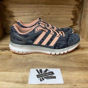 Adidas adiprene plus gray coral running shoes